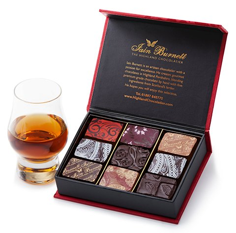 Whisky and Chocolate selection