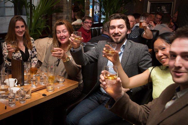 Enjoying a dram on World Whisky Day