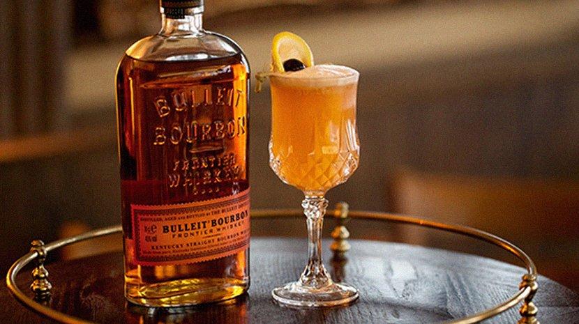 A Bulleit bourbon cocktail