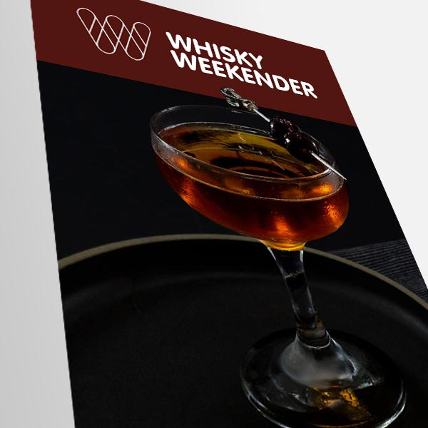 Screen grab of Whisky Weekender email