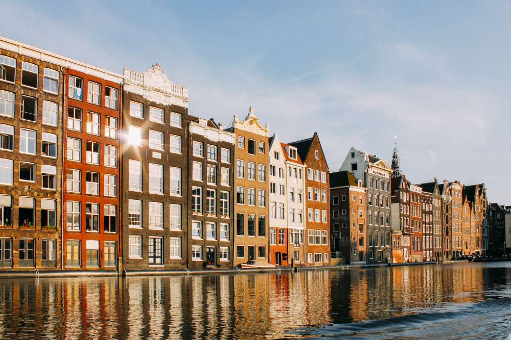 Amsterdam waterfront