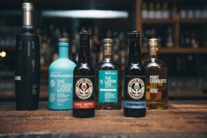 BRUICHLADDICH WHISKY AND BLACK ISLE BREWERY BEER
