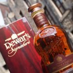 Bottle of Dewars Signature