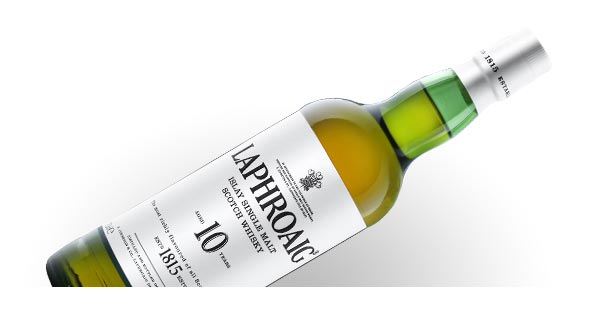 Laphroiag 10 Year Old Single Malt Scotch Whisky