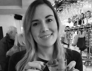 Head of Marketing at R&B Distillers, Zoe White