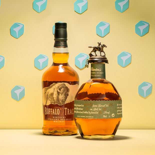 Buffalo Trace and Blanton's bourbon