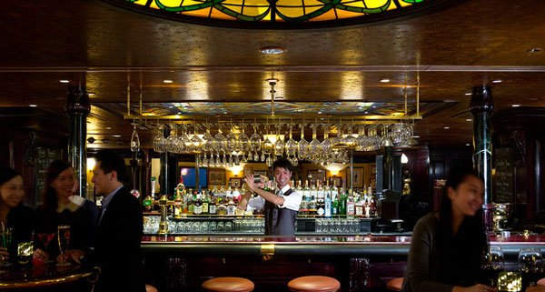 Tiffany's new York bar Hong Kong