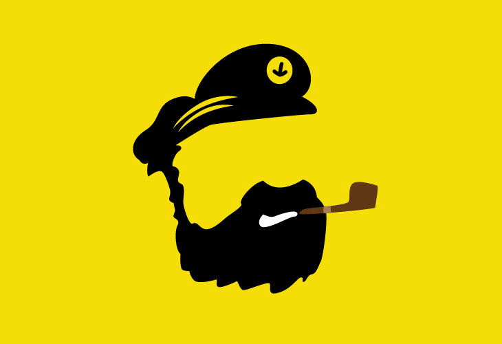 Illustration of Captain Haddock