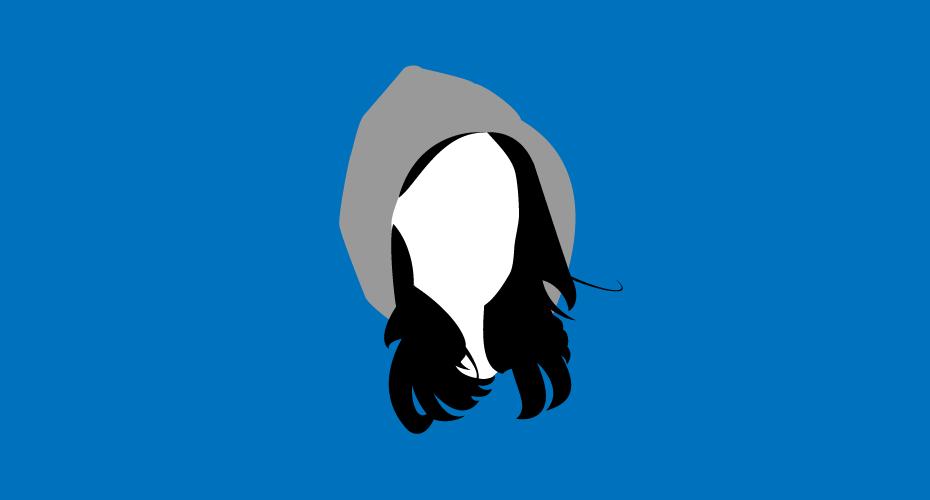 Illustration of Jessica Jones on a blue backdrop