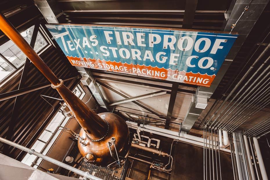 Balcones distillery, Texas