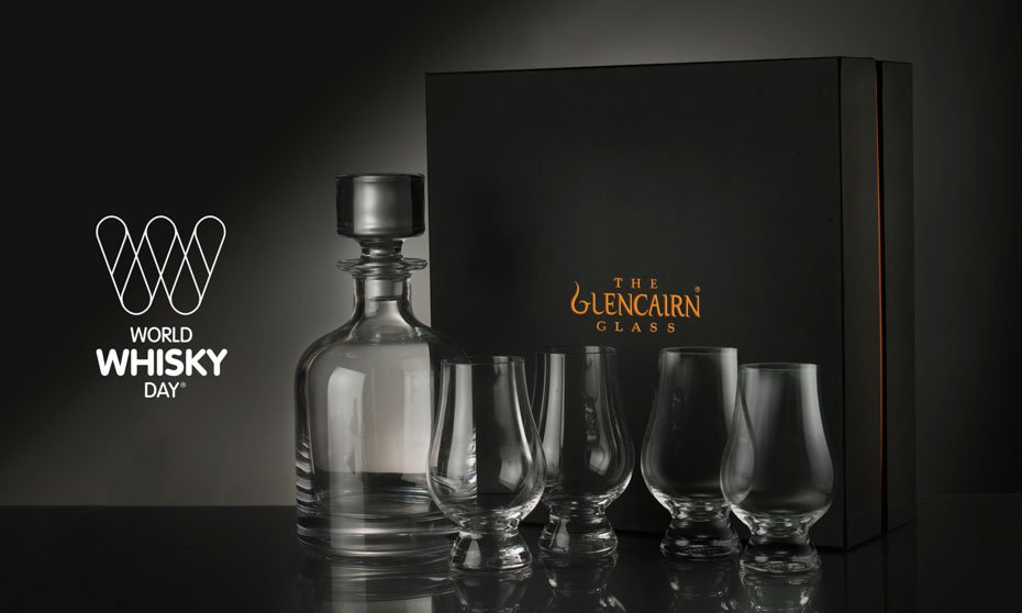 Glencairn Crystal decanter and glass set