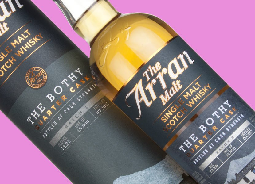 Arran Single Malt - The Bothy Quarter Cask