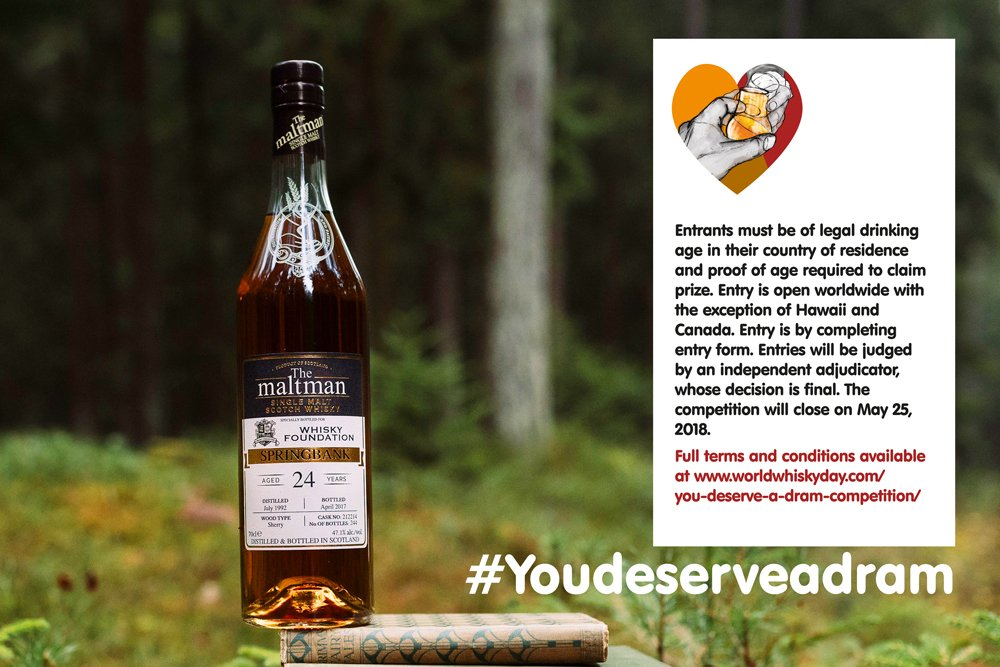 YDAD: Here's who deserves a dram - World Whisky Day