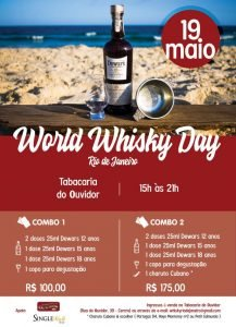 World Whiskey Day Rio de Janeiro celebrates all types of whiskey and  encourages everyone to enjoy the drink with responsibility and joy. 5d9726b950f