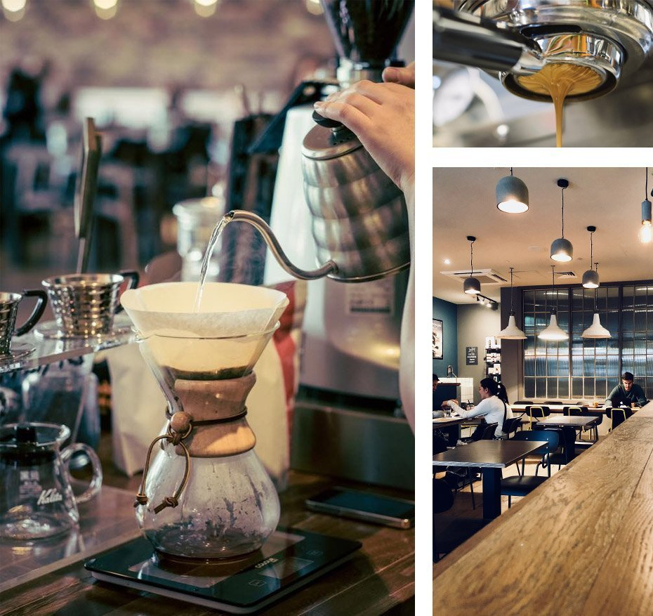 Coffee at Ground Espresso Bar