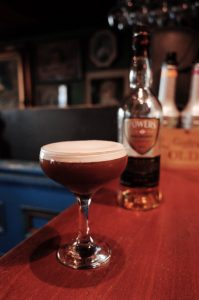 The Nospresso Martini made with Powers Irish Whiskey
