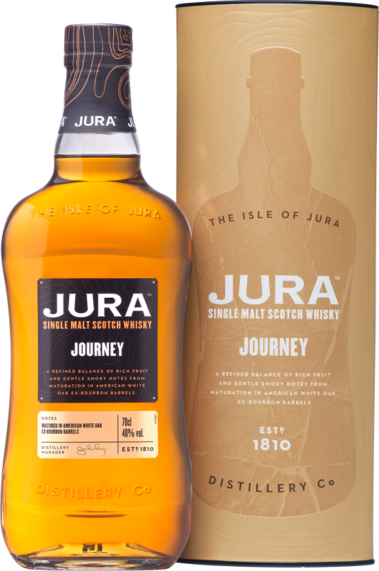 Jura Journey bottle and box