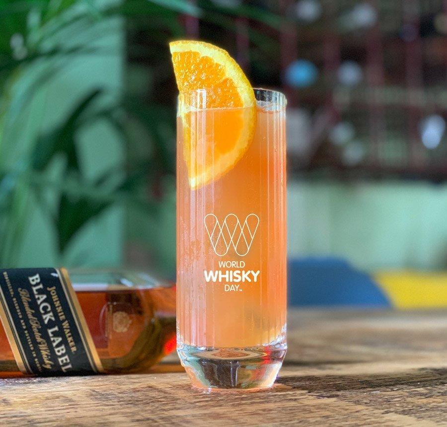 Sunrise Highball cocktail