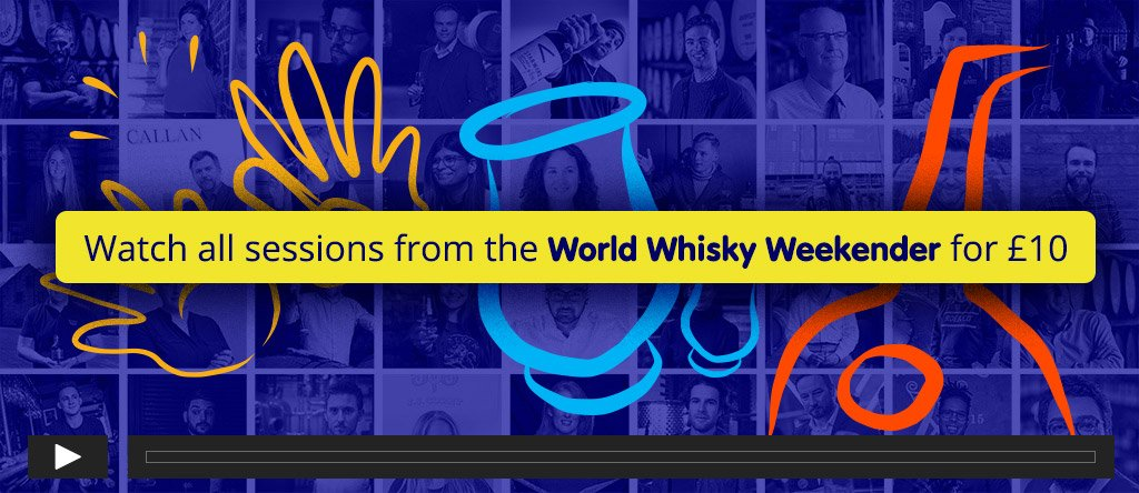 Rent all sessions from the World Whisky Weekender for £10